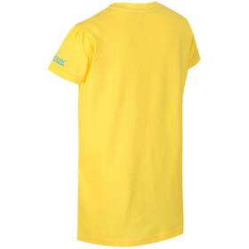 Regatta Bosley II Maglietta a maniche corte Bambino giallo